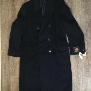 Hammersley Trench Coat Wool Cashmere 44L